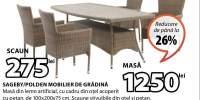 Sageby/ Polden mobilier de gradina