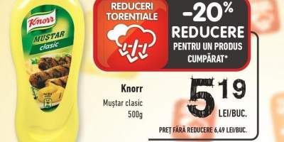 Knorr mustar clasic