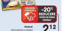 Hochland branza topita bloc cu smantana
