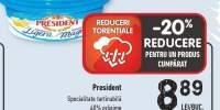 President specialitate tartinabila