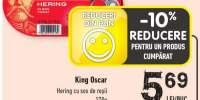 King Oscar hering cu sos de rosii