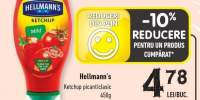 Hellman's ketchup picant/ clasic