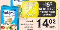 Aptamil 3 cereale si 3 fructe/ lapte & fructe/ 7 cereale