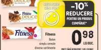 Fitness baton simplu cereale