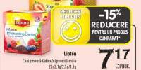 Lipton ceai zmeura & afine/ capsuni/ lamaie