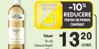 Tohani vin alb Feteasca Regala