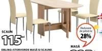 Obling + Storvorde masa si scaune