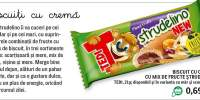 Biscuit cu crema Strudelino