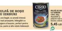Pulpa de rosii cu ierburi Cirio