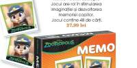 Zootropolis joc educativ Memo Pocket Zootopia