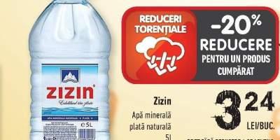 Zizin apa minerala plata 5 L