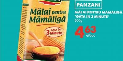 Panzani malai pentru mamaliga 'Gata in 3 minute'