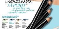 Creion contur pentru ochi cu dublu capat