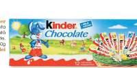 Kinder tableta cu ciocolata cu lapte