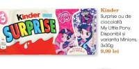Kinder Surprise ou de ciocolata My Little Pony
