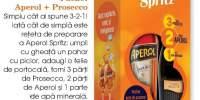 Pachet Aperol + prosecco