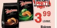 Biscuiti cu crema de cacao/mere Biskrem
