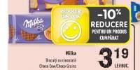 Biscuiti cu ciocolata Milka