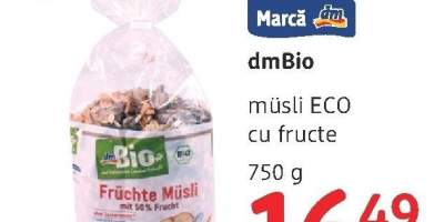 Musli Eco cu fructe