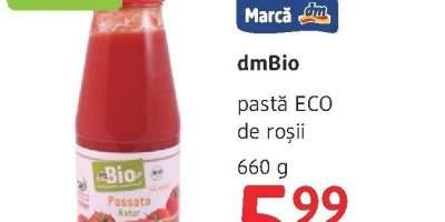 Pasta Eco de rosii