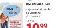 Das gesunde PLUS supliment alimentar cu vitamine si minerale