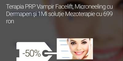Terapia PRP Vampir Facelift