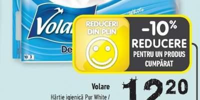 Volare hartie igienica Pur White/ Ocean Fresh/ Lavanda