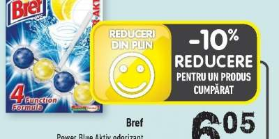 Bref Power Blue Aktiv odorizant