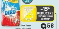 Dero Ozon+ detergent manual pudra