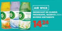 Odorizant de camera freshmatic, rezerva Air Wick