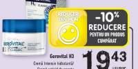 Gerovital H3 crema intensiv hidratanta/ crema antirid de noapte