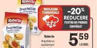 Roberto bruschete cu rosii si ierburi/ ulei de masline