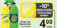 Mirinda, 7Up, Mountain Dew suc carbogazos