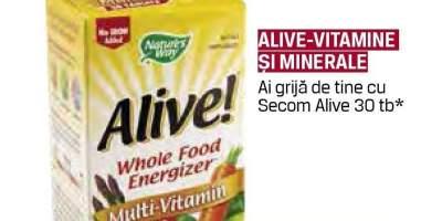 Alive - Vitamine si minerale