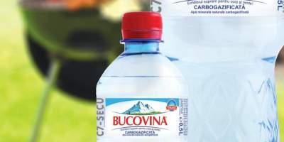 Apa minerala naturala carbogazificata Bucovina 1.5/0.5 L