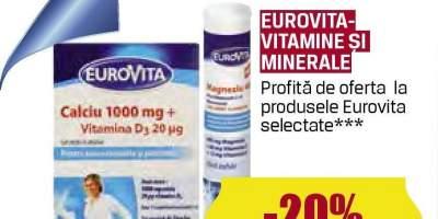 Eurovita- Vitamine si minerale