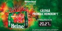 Heineken 8 sticle 0.25 L