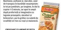 Croissant cu aroma de pizza