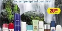 50% Reducere la al doilea deodorant sau antiperspirant