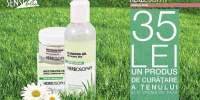 35 de lei: produs curatare ten + crema de fata
