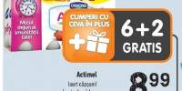 Iaurt capsuni/fructe de padure Actimel