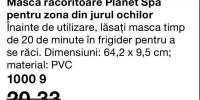 Masca racoritoare Planet Spa pentru zona din jurul ochilor