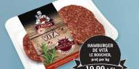 Hamburger de vita Le Boucher