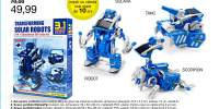 Robot cu incarcare cu energie solara