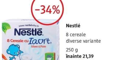 Nestle 8 cereale