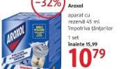 Aroxol aparat cu rezerva impotriva tantarilor