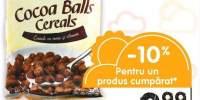 Viva cereale bilute cu cacao/fulgi de cacao