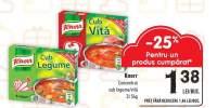 Knorr concentrat cub legume/vita