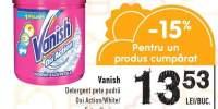 Detergent pete pudra Vanish