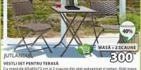 Jutlandia Vestli set pentru terasa